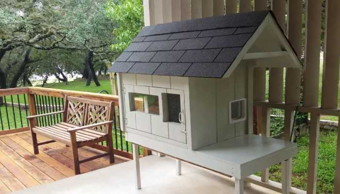 Image That resembles the DIY Shelter for Cats